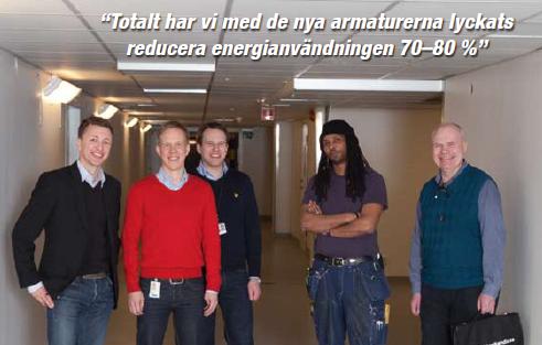Ny belysning på Sabbatsbergs sjukhus