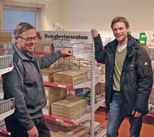 Vill du ha Elektroskandias lager i dina lokaler? Energismart logistik!