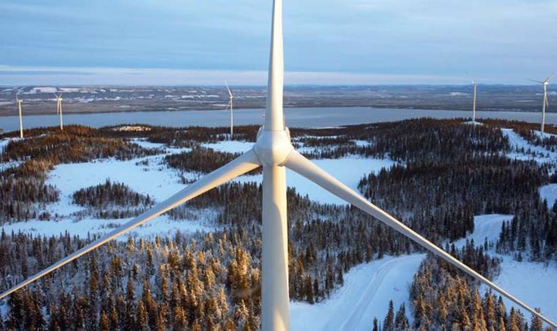 Leverans till Sveriges största landbaserade vindkraftanläggning