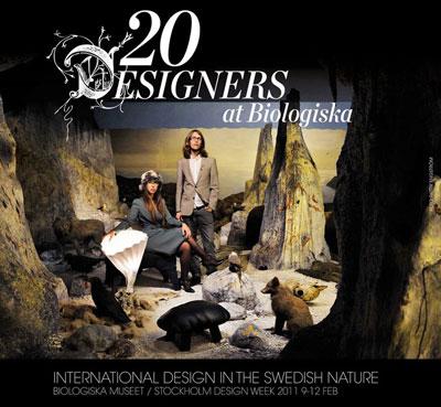 20 designers på Biologiska