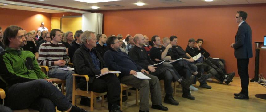 Lyckat seminarium i Mölndal