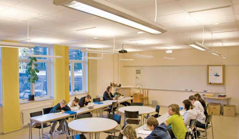 Elektroskandias belysningskoncept för skolor – nu ännu enklare och mer energisnålt