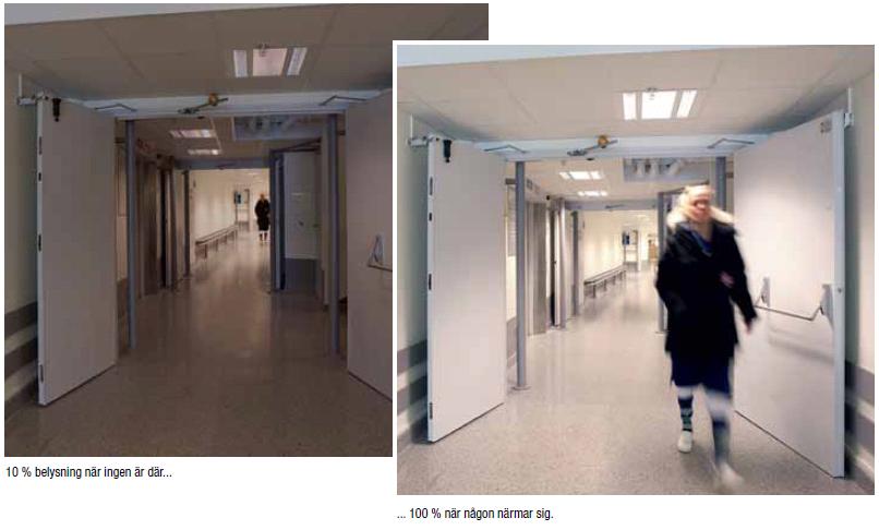 Smart och energibesparande belysning till S:t Görans Sjukhus