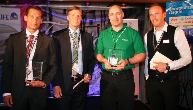 Vinnare av Energismart Awards 2011