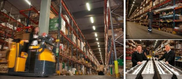Energieffektivisering av Elektroskandias centrallager