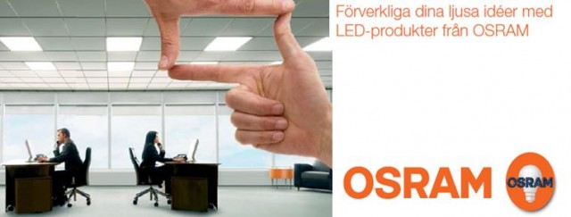Bring lighting to life, Osrams stora LED kampanj pågår för fullt