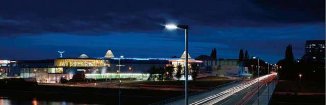 Ljusstyrning utomhusarmaturer