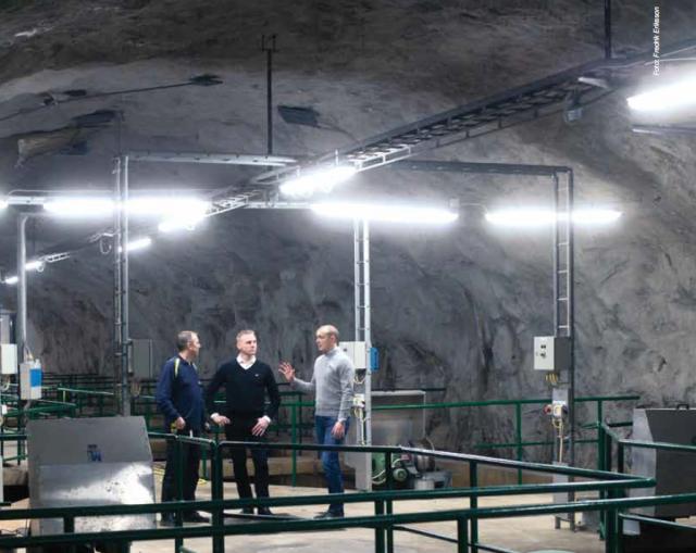 Minskade underhållskostnader för Stockholm Vatten med LED-belysning