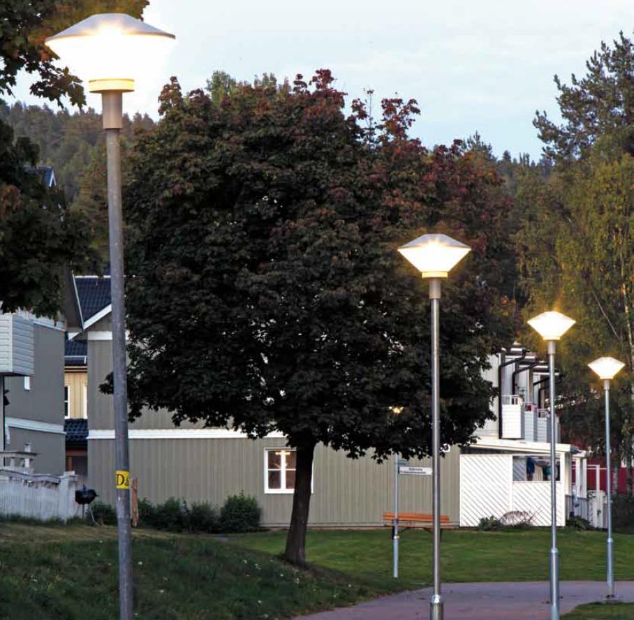 Ny utebelysning ger stor energibesparing för Kopparstaden